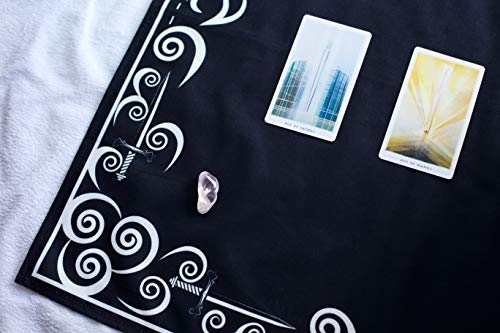 Tarot Cloth and Moon Tapestry Bundle by Hidden Crystal Tarot (Image #4)