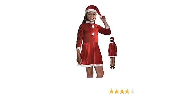 Cisne 2013, S.L. Conjunto de Navidad Christmas para Niña Disfraz ...