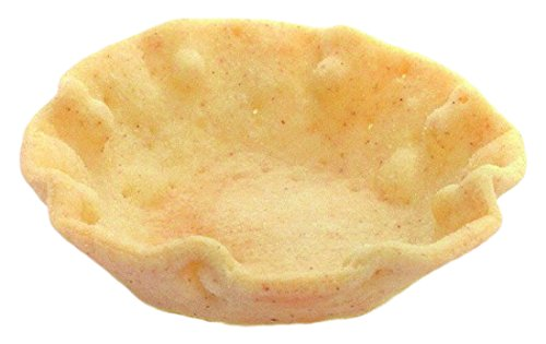 Pidy Canape Cuppys Shallow Shaped Neutral Canape Pastry Cups - 140 Portions