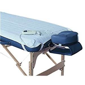 Deluxe Massage TABLE WARMER: Heating Pad Fits ALL Massage Beds