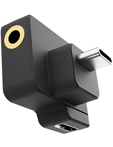 Adaptador CYNOV mic Osmo Action Dual 3.5mm para Osmo Action