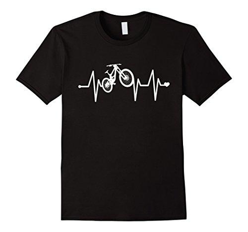 Downhill Mountain Bike Heartbeat Pulse Shirt Downhill Bike Shop