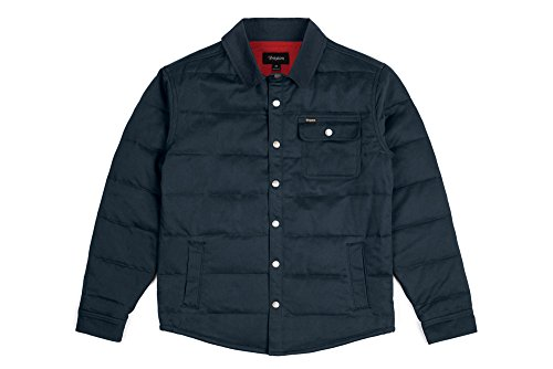 Cass Apparel Herren Blu Uomo Brixton Acciaio Jacket gwqF4ZE