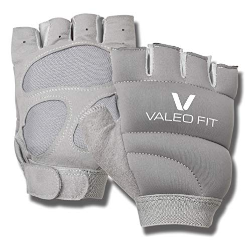 Valeo 1 lb Each Weighted Power Gloves Weighted Women