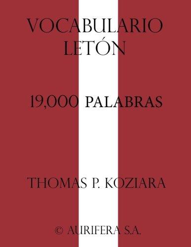 Vocabulario Leton  [Koziara, Thomas P.] (Tapa Blanda)