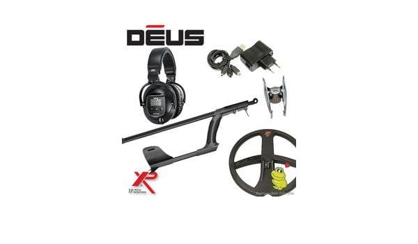 Metal Detectors Xp-Detector De metales Deus Light2 Tecnología inalámbrica-Auriculares De diadema inalámbricos Ws5 Disco-Dd 22 Cm, incluye protector para ...