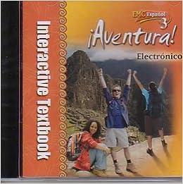 Aventura Electronico (Aventura - Interactive Textbook, Espanol 3 ...