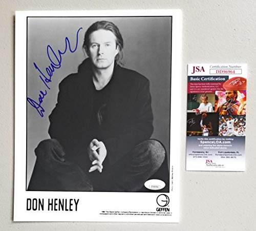 (Don Henley of The Eagles signed autographed 8