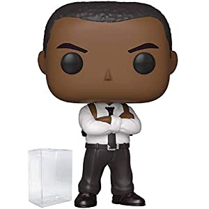 Captain Marvel - Nick Fury Funko Pop! Vinyl Figure (Includes Compatible Pop Box Protector Case)