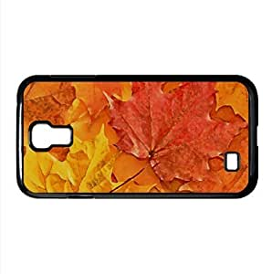 Oak Leaves Watercolor style Cover Samsung Galaxy S4 I9500 Case (Autumn Watercolor style Cover Samsung Galaxy S4 I9500 Case)
