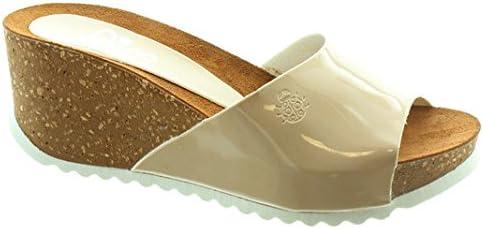 Yokono - Bari Wedge Mule Sandals in