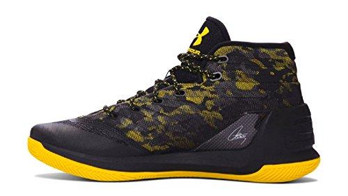 Under Armour Herren Curry 3 Basketballschuh Schwarz Gelb