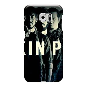 Protective Cell-phone Hard Covers For Samsung Galaxy S6 (HJd1423xyPd) Customized Trendy Linkin Park Band Series