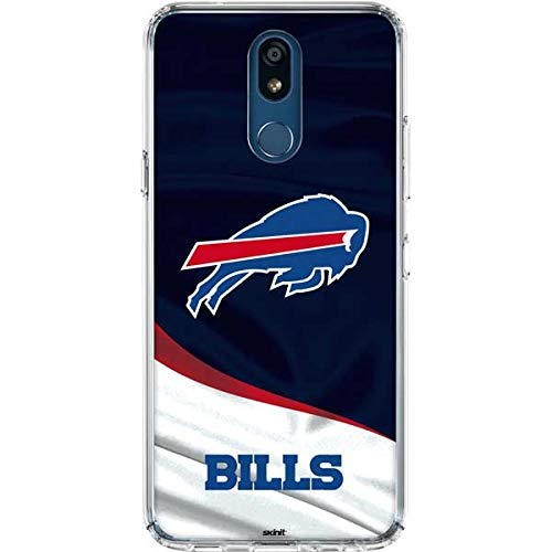 Skinit Buffalo Bills LG K30 Clear Case - Officially Licensed NFL Phone Case Clear - Transparent LG K30 Cover Buffalo Bills Nfl Case