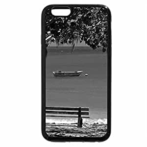 iPhone 6S Case, iPhone 6 Case (Black & White) - Whitsunday Islands off Australia - South Pacific