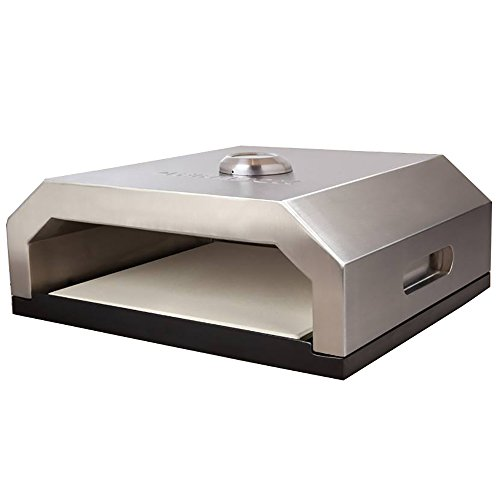 Flame Box Light & Portable Gourmet Pizza Oven for Outdoor Gas or Charcoal (Outdoor Pizza)