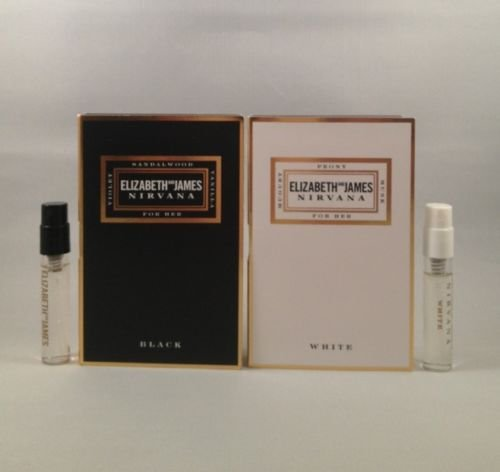 [Elizabeth and James Nirvana for Her Black & White EDP 2 Ml/.07 Oz Spray Sample Vial] (Her Edp Spray)
