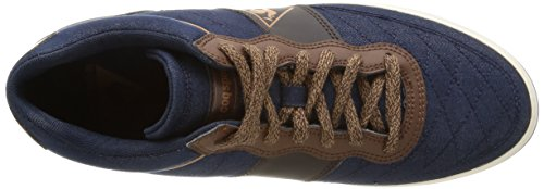 Le Coq Sportif Troca Mid - Zapatillas de Deporte de lona hombre azul - Bleu (Dress Blue/Chambray)