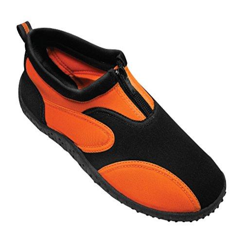 Calzado De Agua Para Mujer Aqua Fire De Rockin Footwear Naranja