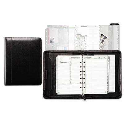 to Bonded Leather Starter Set, 5 1/2 x 8 1/2, Black ()