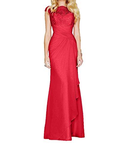 Lang Braut Elegant Abendkleider Ballkleider La Marie 2017 Pfirsisch Etui Brautmutterkleider Rot Partykleider XUq5xnSwpH
