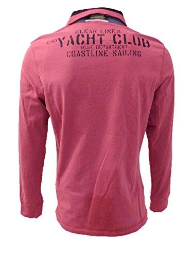 CAMP DAVID POLO SHIRT ROYAL YACHT CLUB I CLOUDY RED L
