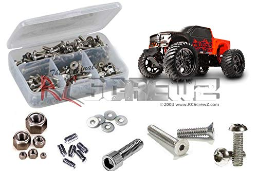 - RC Screwz Stainless Steel Screw Kit for CEN Racing Colossus XT #cen028