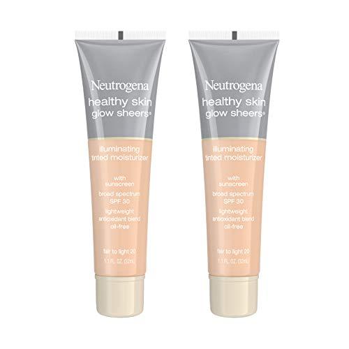 Neutrogena Healthy Skin Glow Sheers Tinted Moisturizer with SPF 20 - 20 Fair To Light - 1.1 fl oz
