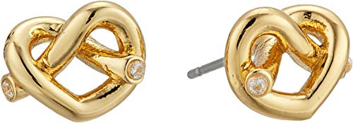 Kate Spade New York Women's Love Me Knot Stud Earrings, Gold, One Size