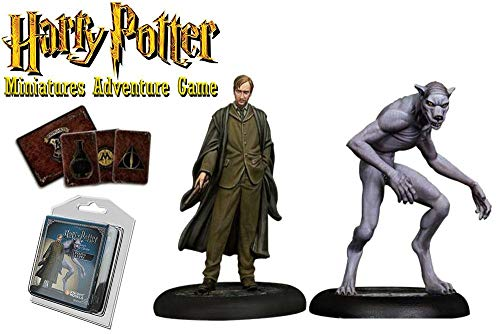 Knight Models Juego de Mesa - Miniaturas Resina Harry Potter Munecos Remus Lupin Expansion Pack, version inglesa
