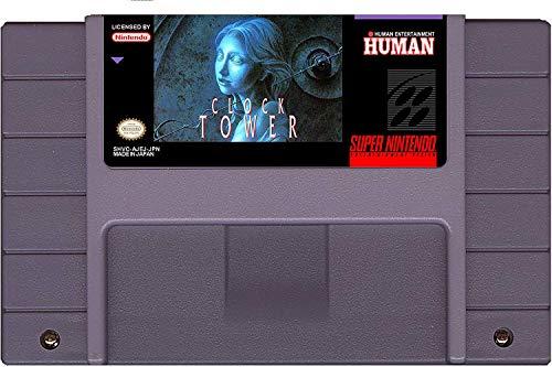 Clock Tower - English Translation (Super Nintendo, SNES) Reproduction Video Game Cartridge