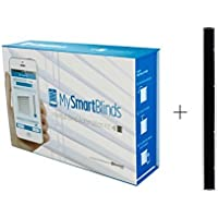 MySmartBlinds Automation Kit Bundle + Solar Panel (2...