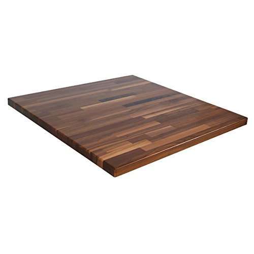 John Boos Blended Walnut 25 Wide Kitchen Counter Top, 1-1/2 Thick, 145 x 25, Oil (Oil Top Grain)