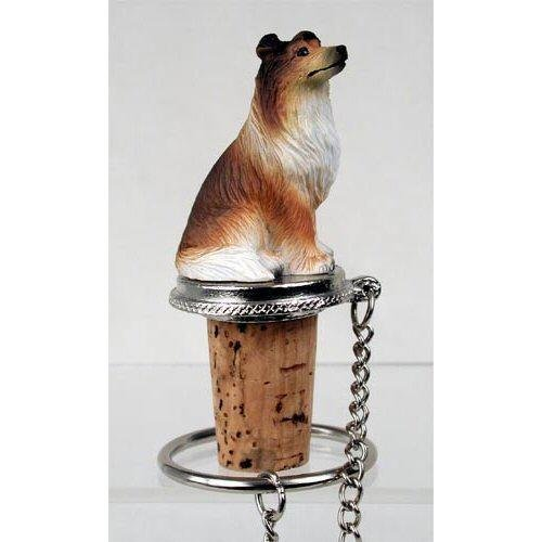 Collie, Sable Dog Bottle Buddy (3 in) (Sable Collie Figurine)
