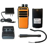 SRcommunications orange SR-D1U 400-470MHz 256 channels 16 zone 4W digital/analog DMR portable radio