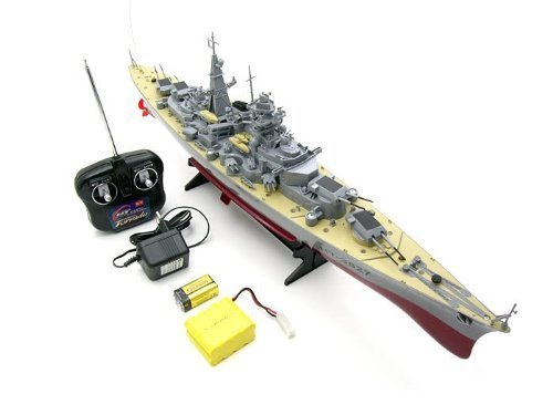 German Bismarck Military Battleship 1/360 RC 28' Warship R/C Crusero