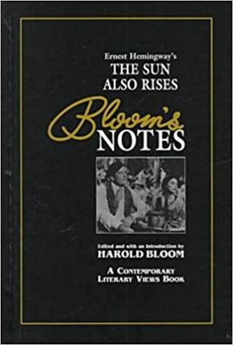 com bloom s notes ernest hemingway s the sun also rises  bloom s notes ernest hemingway s the sun also rises 1st edition