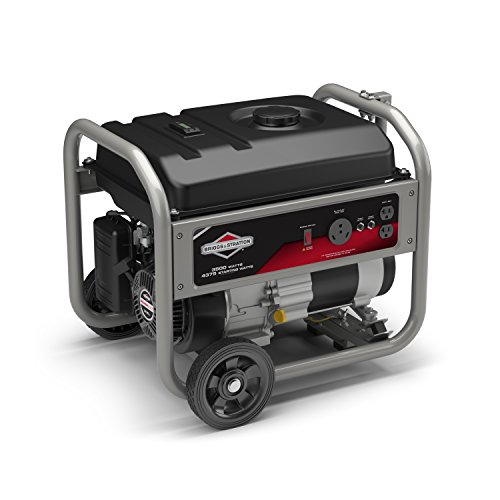 Briggs Stratton 30676 Portable Generator with RV Outlet, 4375 Starting Watts 3500 Running Watts
