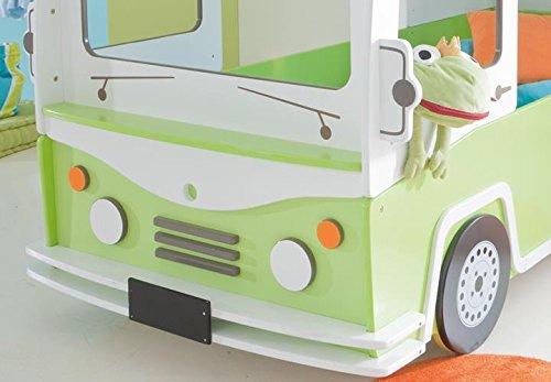 Kinder Etagenbett Bus : Zearo hochbett autobus kinder etagenbett bett in grün und weiß