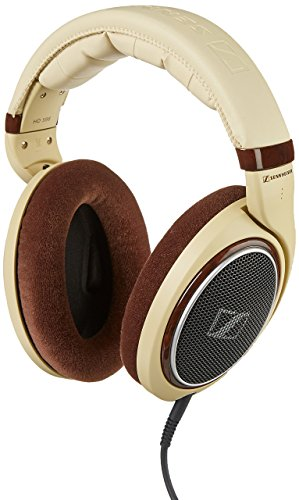 Sennheiser HD 598 Over Ear Headphone  Light Brown
