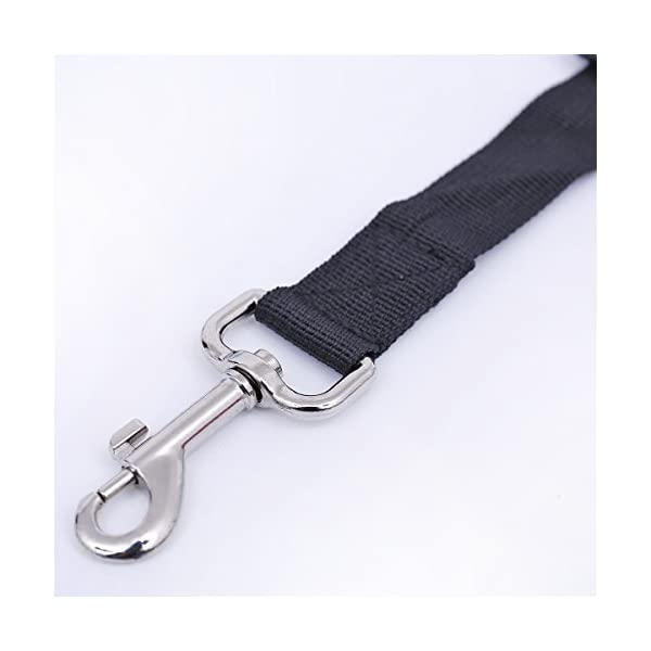 Wkae Pet Car Seat Belt Clip Lead Restraint Safety Harness Tracton ( Color : Black ) Click on image for further info. 2