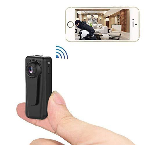 SAFE-HOME Mini Camera 1080P WiFi DV DVR Wireless IP Cam Mini Video Camcorder Recorder Infrared Night Vision Small - Indoor Camcorder Dome