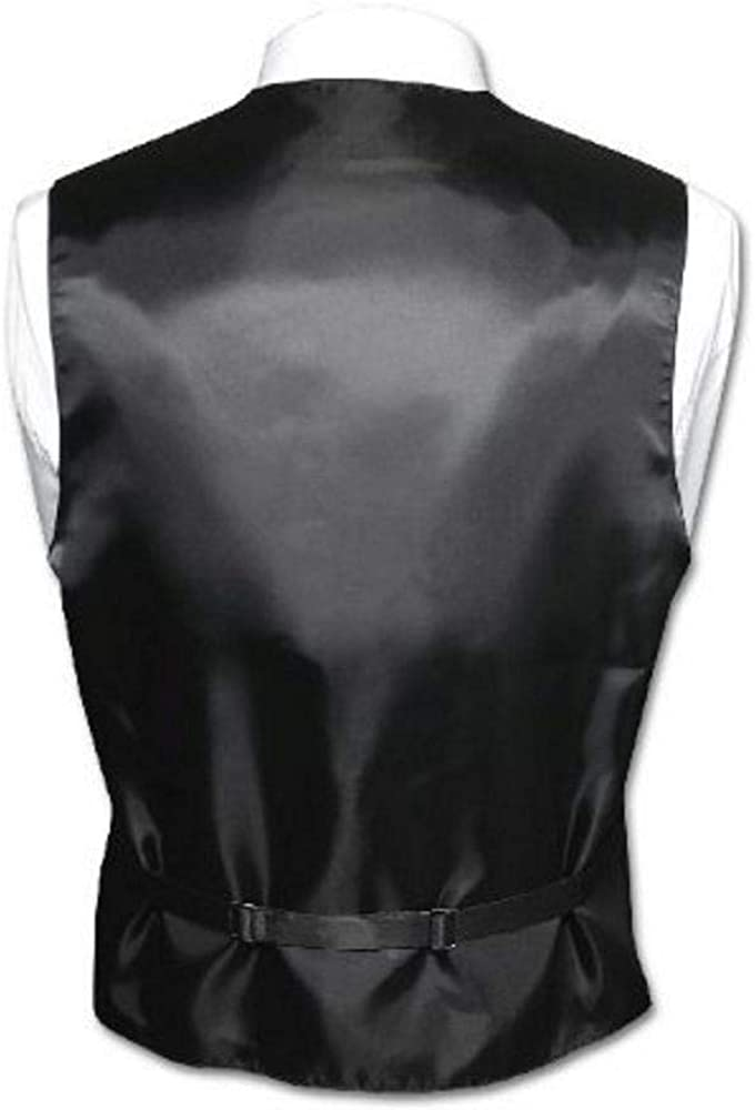 Italian Design Mens Formal Tuxedo Vest in Whiskey