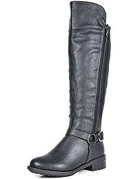 Women's Sunrider Knee High Winter Military Combat Boots