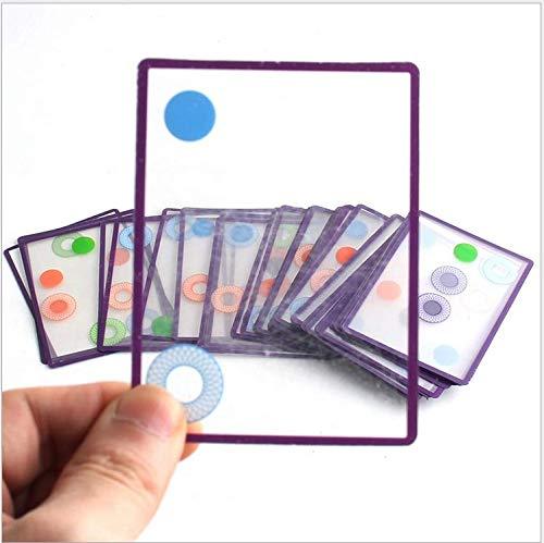 Milai Swish- 楽しい透明カードゲームとおもちゃの年ノミニー。対象年齢8歳以上。
