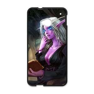 Funda para móviles HTC uno M7 cell Black Vereesa windrunner 005 YW5025000