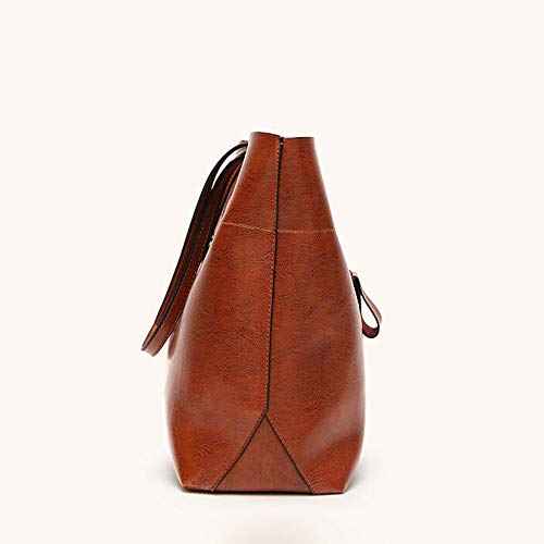 Bag Single Bag A Wax Cross Volume PU Bag Retro Female Oblique Shoulder Large Female Hongge Oil Fashion Woman Bag 5tqAFF