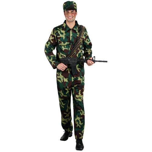Army Soldier - Adult Costume Men : MEDIUM