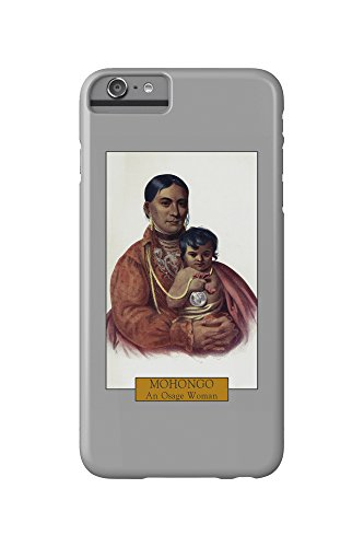 Mohongo - Portrait of an Osage Woman with her Baby (iPhone 6 Plus Cell Phone Case, Slim Barely - Osage Women
