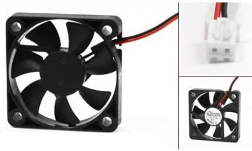 50mm x 50mm x 10mm 5010 DC 12V 0.1A 2Pin Brushless Cooling Fan Value-5-Star